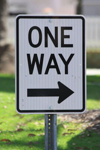 """Sign - One Way"" by Andrew Schmidt"