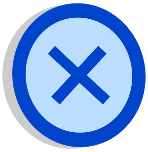 Rotated version of File:Symbol support2 vote.svg.