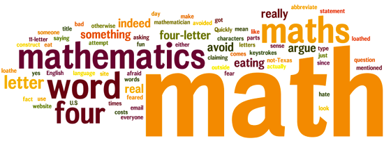Is Math a Four Letter Word? - MathFour