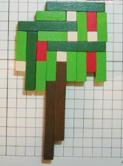 Cuisenaire Rod Tree