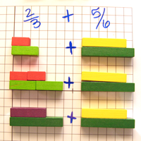 Adding Fractions with Cuisenaire Rods - MathFour