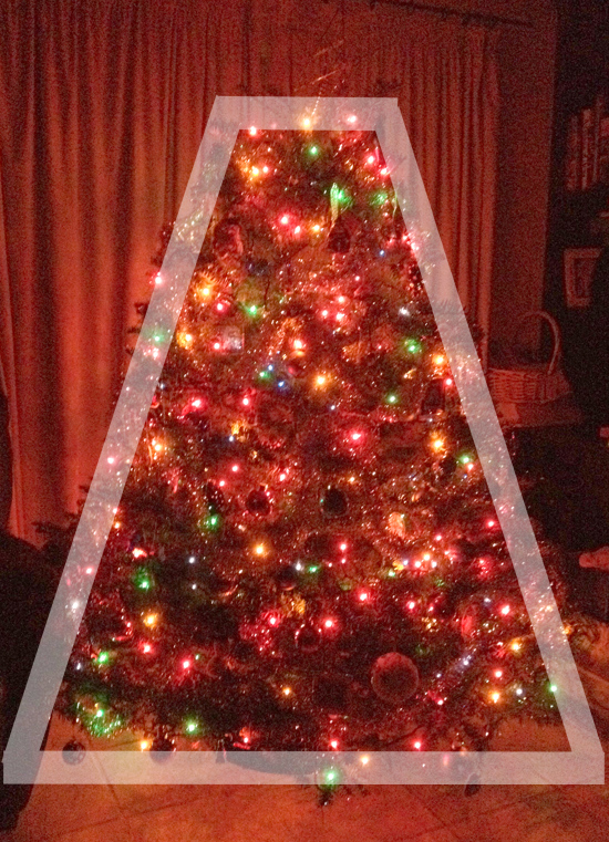 Trapezoid Christmas Tree