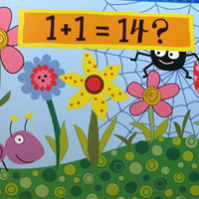 Math Picture Book: 1+1=5 And Other Unlikely Additions