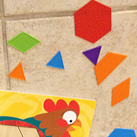 Melissa & Doug's Animal Pattern Blocks Set