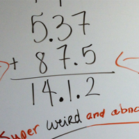 Adding Decimals – All Wrong!