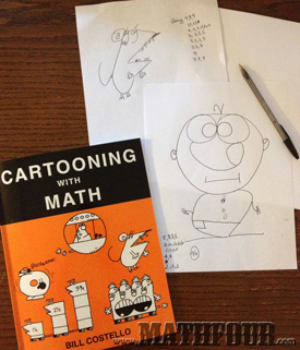 Cartooning with Math