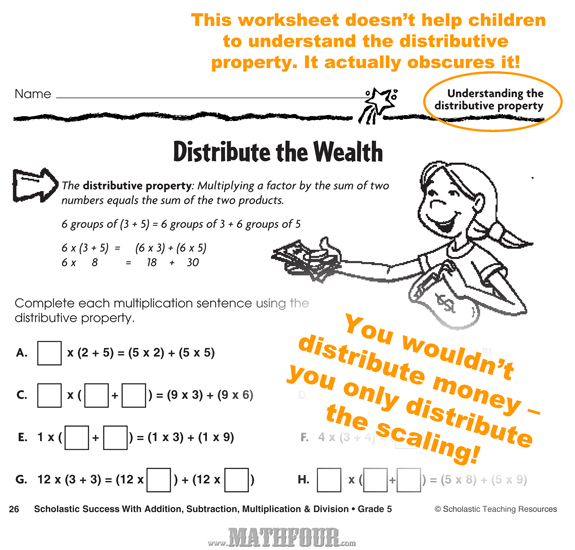 Distributive Property Of Multiplication Worksheets 3Rd Grade – Distributive Property of Multiplication Worksheet