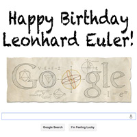 Happy Birthday Leonhard Euler – from the Houston Eulers Cookoff Team!