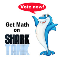 Help us get #math on Shark Tank! It takes 2 minutes to vote. www.MathFour.com/shark-tank