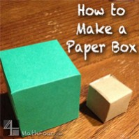 How to Make a Paper Box – Free Download!