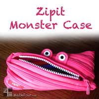 Project Based Learning Idea – The Zipit Monster Pouch