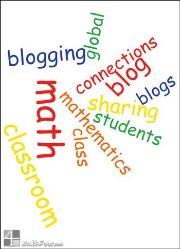 Are you considering having your class do a blog? Here are some tips for before and during that math blogging journey! http://mathfour.com/?p=10126