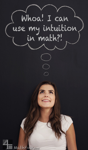 how to get intuition for maths