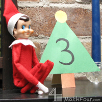 Number Practice with ELF on the SHELF or Advent Calendar