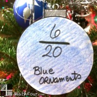 Christmas Ornament Craft with Fractions!