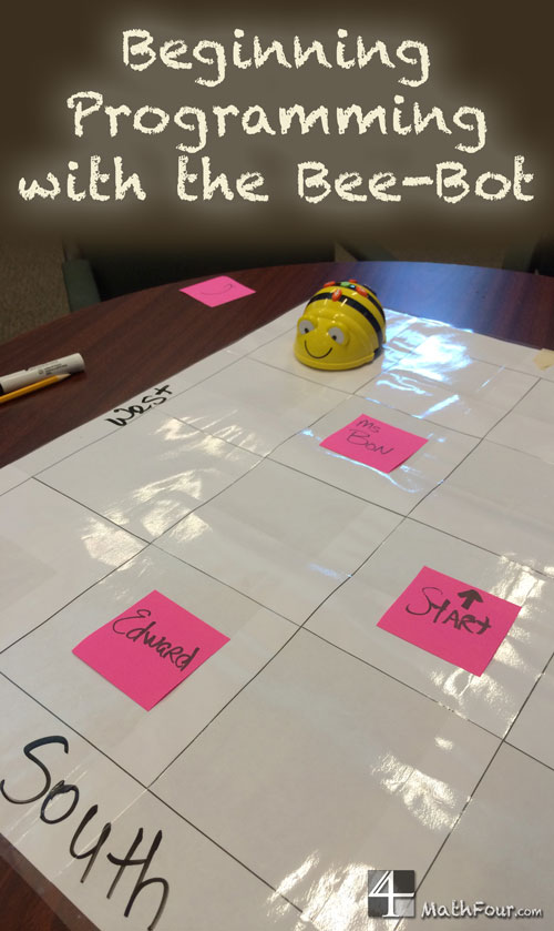"The bee-bot programmable robot teaches logic, the basics of programming and how a computer ""thinks."""
