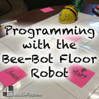 Bee-Bot Floor Robot – Teaching Basic Programming