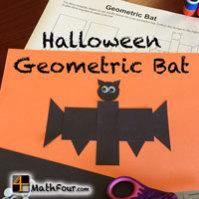 Halloween Geometric Bat – FREE DOWNLOAD