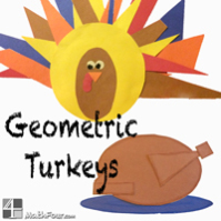 Geometric Turkeys – Live AND Baked with FREE Downloads!