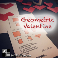 Geometric Valentine {FREE Download}