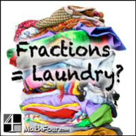 Reducing Fractions is like Folding Clothes