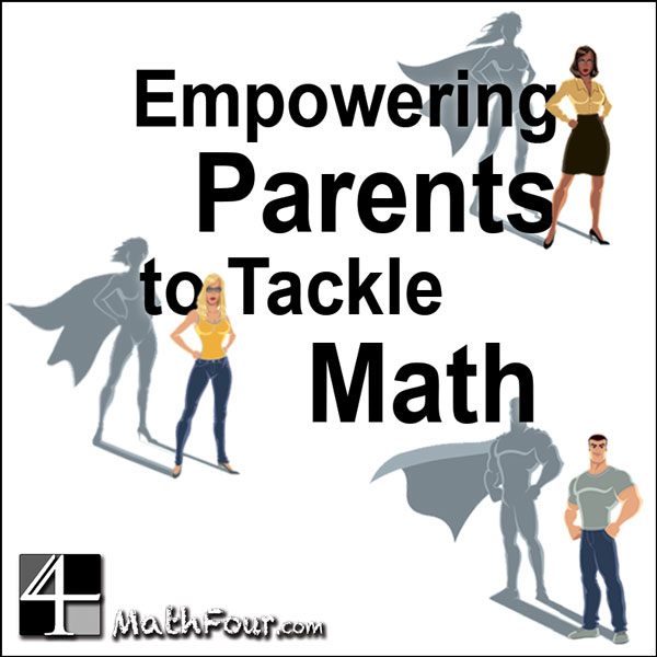 There's a new Facebook group just for empowering parents to tackle math!