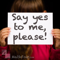 Saying YES – Even When NO Is Expected {Five Minute Friday}