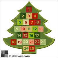 Math Calendars – Yearly, Advent, Hanukkah
