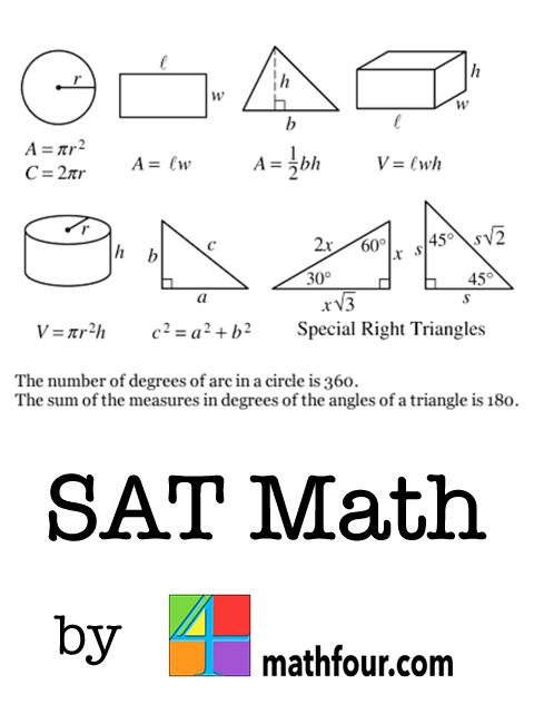 SAT Math - Magazine cover